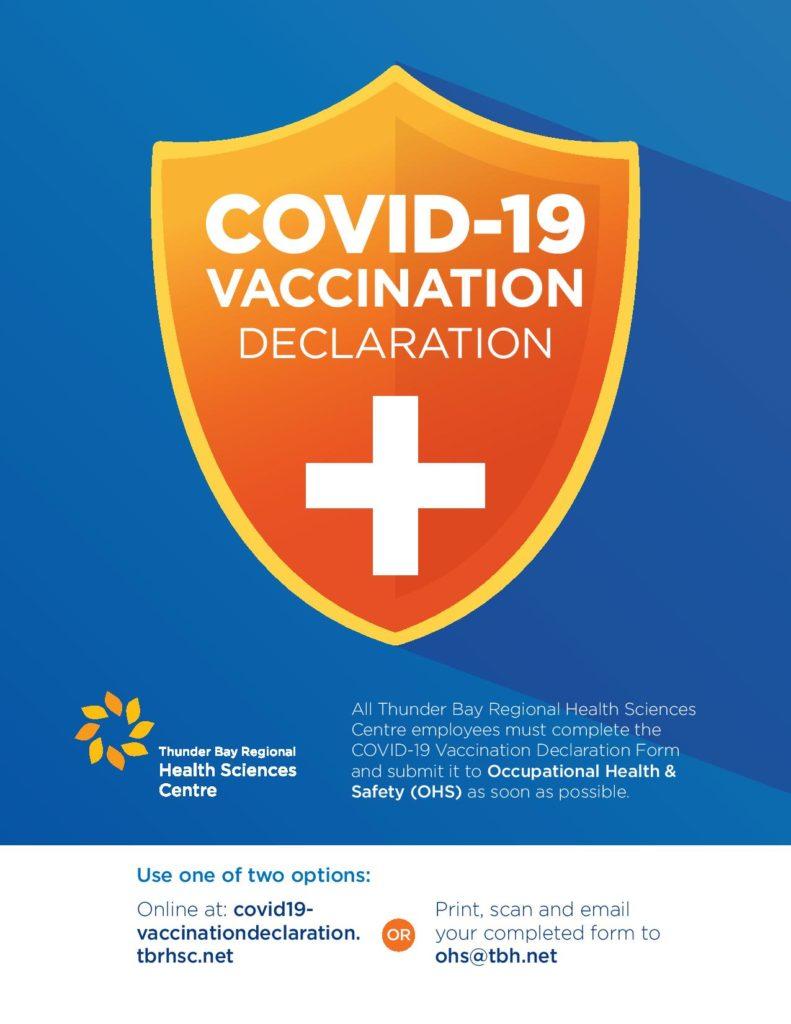 Link to vaccine declaration